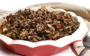 Wild Rice Bread Stuffing