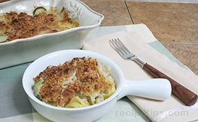 Yellow Squash and Zucchini Gratin