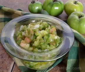 Green Tomato Salsa Recipe