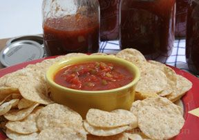 Homemade Canned Salsa