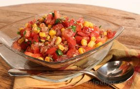 Tomato and Corn Salsa