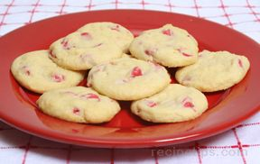 Cherry Chip Cookies