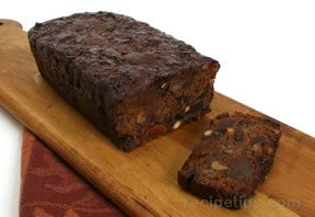 Spicy Dark Fruitcake