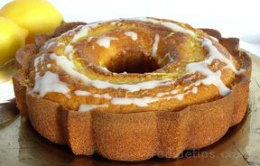 lemon bundt cake with lemon glaze Recipe