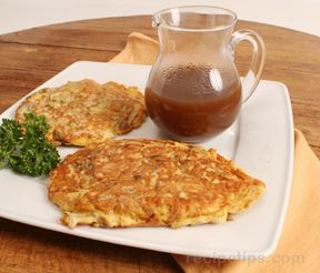 Egg Foo Yung with Sauce