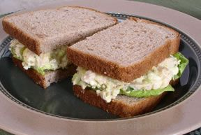 Chicken and Egg Salad Sandwich