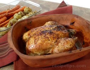 Clay Pot Baked Chicken