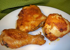 Quick and Easy Oven Fried Chicken