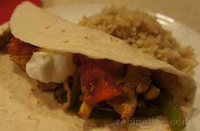 the very best chicken fajitas ever Recipe