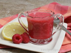 Fresh Raspberry Lemon Vinegar Recipe