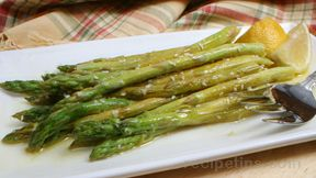 Asparagus with Lemon Zest and Vinaigrette