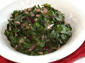 Braised Beet Greens