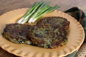 Spinach and Potato Latkes
