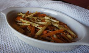 Roasted Carrots and Parsnips 3 Recipe