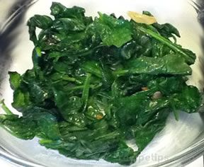 sautéed spinach with garlic and olive oil Recipe