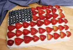 flag cake Article