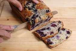 Blueberry Nut Bread
