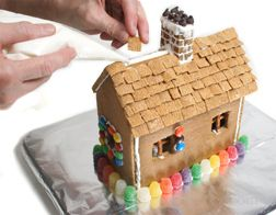 How to Make a Gingerbread House Article