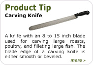 Product Tip - Carving Knife