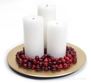 Elegant Holiday Centerpieces