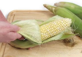 grilling sweet corn Article