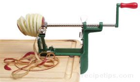 apple peeler Glossary Term