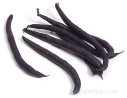 purple wax bean Glossary Term