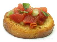 bruschetta topping Glossary Term
