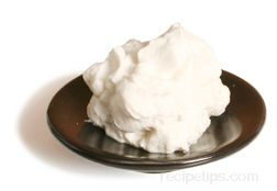 Chantilly Cream Glossary Term