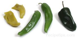 Green Chile Pepper Glossary Term