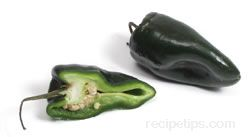 Poblano Chile Pepper Glossary Term