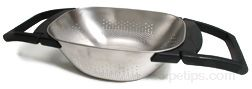 over the sink colander Glossary Term
