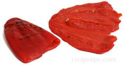 roasted sweet pepper Glossary Term