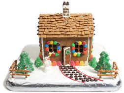 gingerbread house Glossary Term