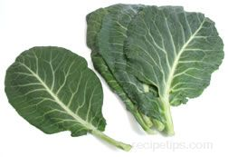 collard greens Glossary Term