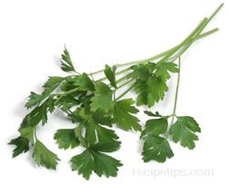 flat leaf parsley Glossary Term