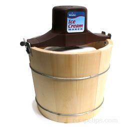 Ice Cream Maker Definition And Cooking Information Recipetips Com