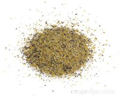 lemon pepper Glossary Term