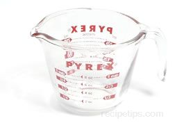 measuring cup Glossary Term