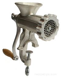 Meat Grinder Glossary Term