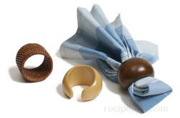 Napkin Ring Glossary Term