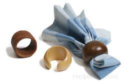napkin ring Glossary Term