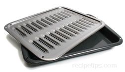 Image result for open slotted oven pan