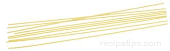 Spaghetti Pasta Glossary Term