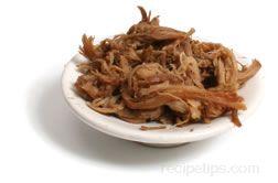 shredded pork Glossary Term