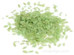 green rice flakes Glossary Term