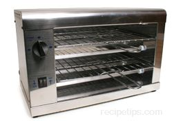 Salamander Oven - Definition and Cooking Information - RecipeTips.com