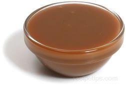 Caramel Sauce Glossary Term
