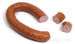 smoked sausage Glossary Term