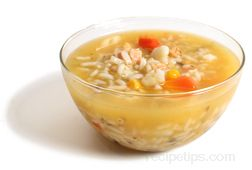 chicken and rice soup Glossary Term